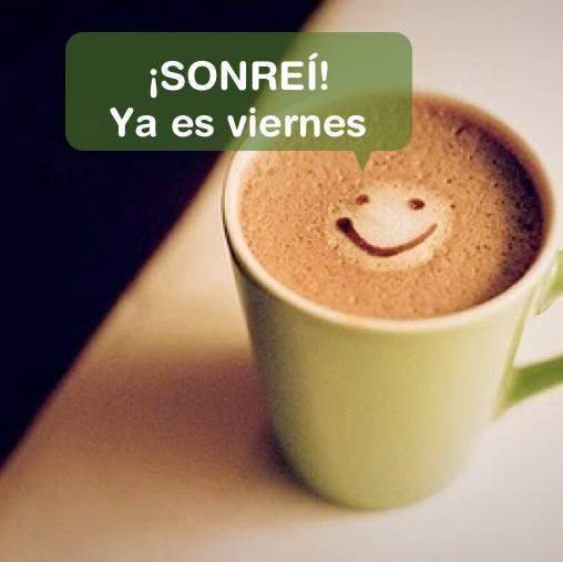 Sonríe, ya es viernes ;)