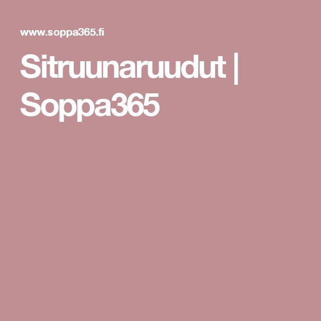 Sitruunaruudut | Soppa365