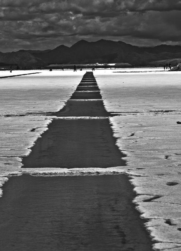 Salinas grandes, salt lake, Salta, Argentina by Maciej Dudzik, via Behance
