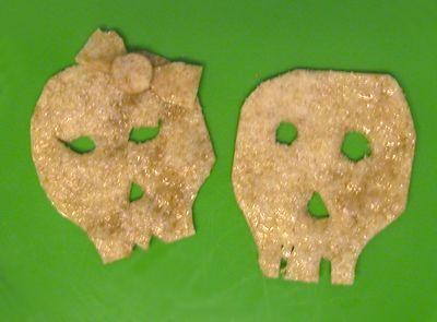 Sugar Skull Flour Tortilla Chips
