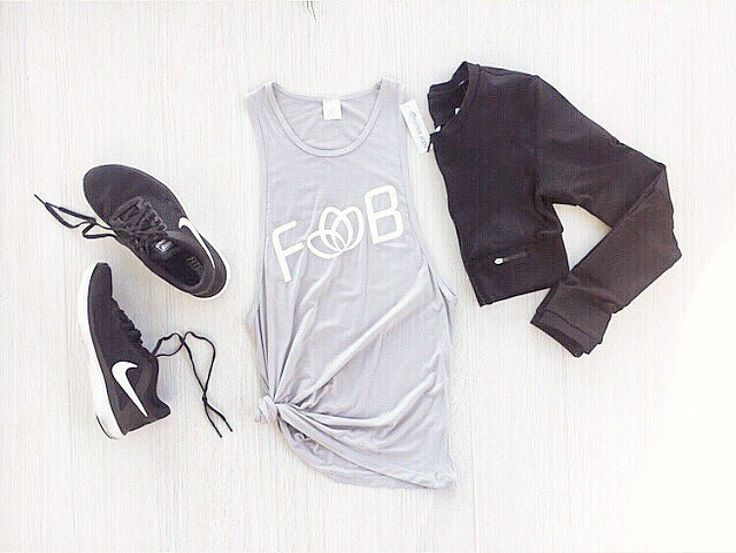Workout outfit Inspo { Comfort Muscle Tee + Active Cropped Jacket } SHOP with AFTERPAY xx #lifestyle #wellbeing