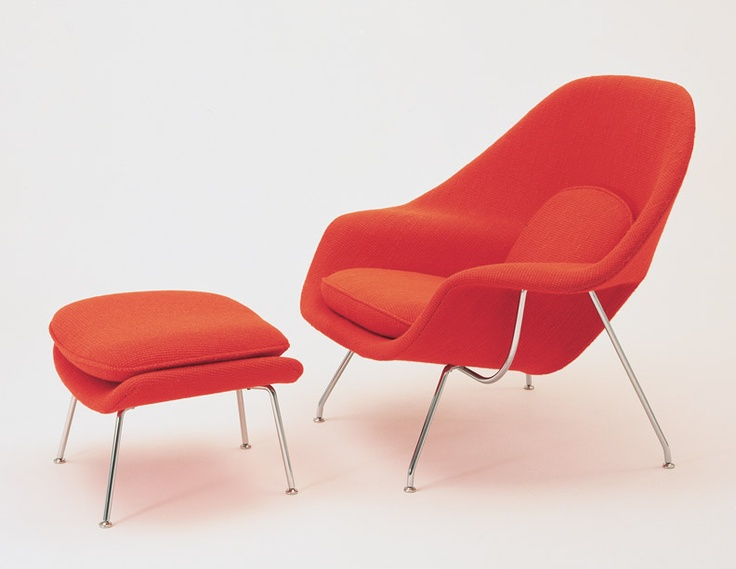Womb Chair and Ottoman91 best  furniture Eero Saarinen images on Pinterest   Chairs  . Eames Wicker Womb Chair. Home Design Ideas
