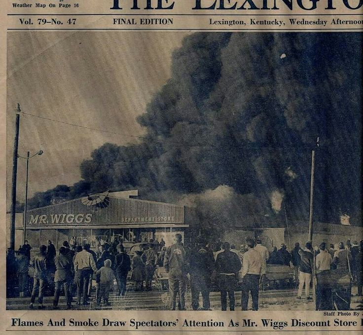 Mr Wiggs catches on fireprobably early 1070u0027s