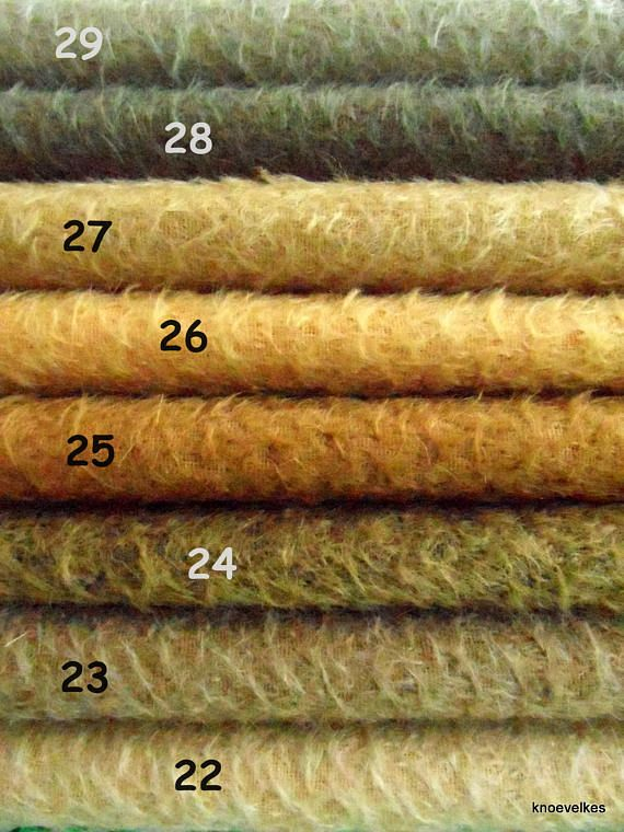 Pick your own SET of 3  1/16 pieces of Schulte mohair. Will