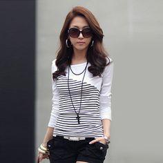 Poleras de mujer moda 2015 vintage brand t shirt women fashion t-shirt vetement…