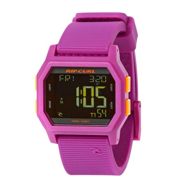 Women's Rip Curl Watches - Rip Curl Sonic Digital Surf Watch - Purple