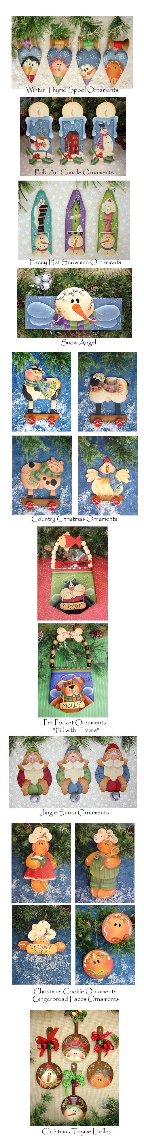AWESOME HOLIDAY STUFF - SNOWMEN, ETC.  http://pinterest.com/slucy/3-holiday-season-love-patterns-ideas/