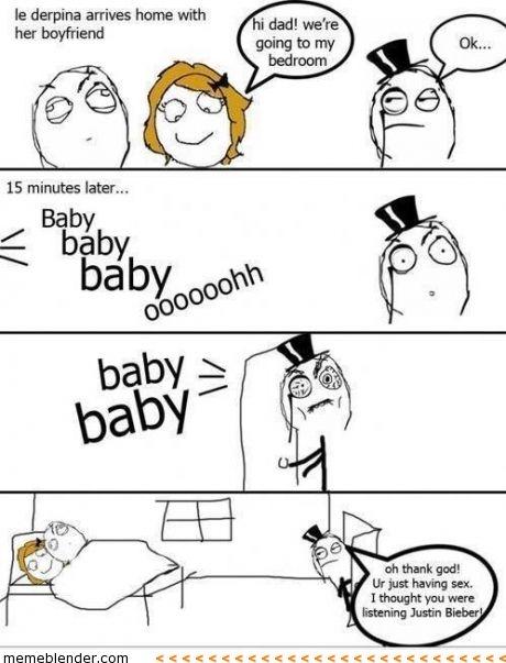 funny Justin bieber joke