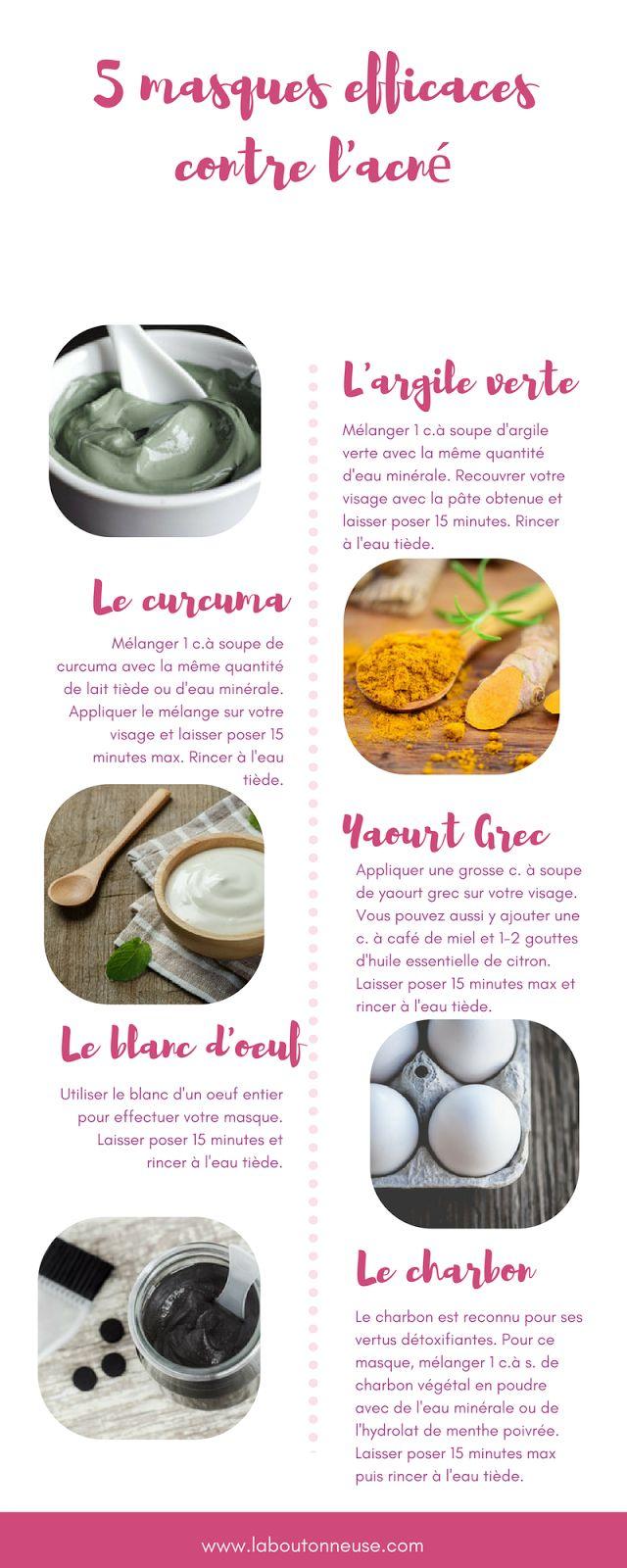 5 masques naturels efficaces contre l'acné (à petits prix)
