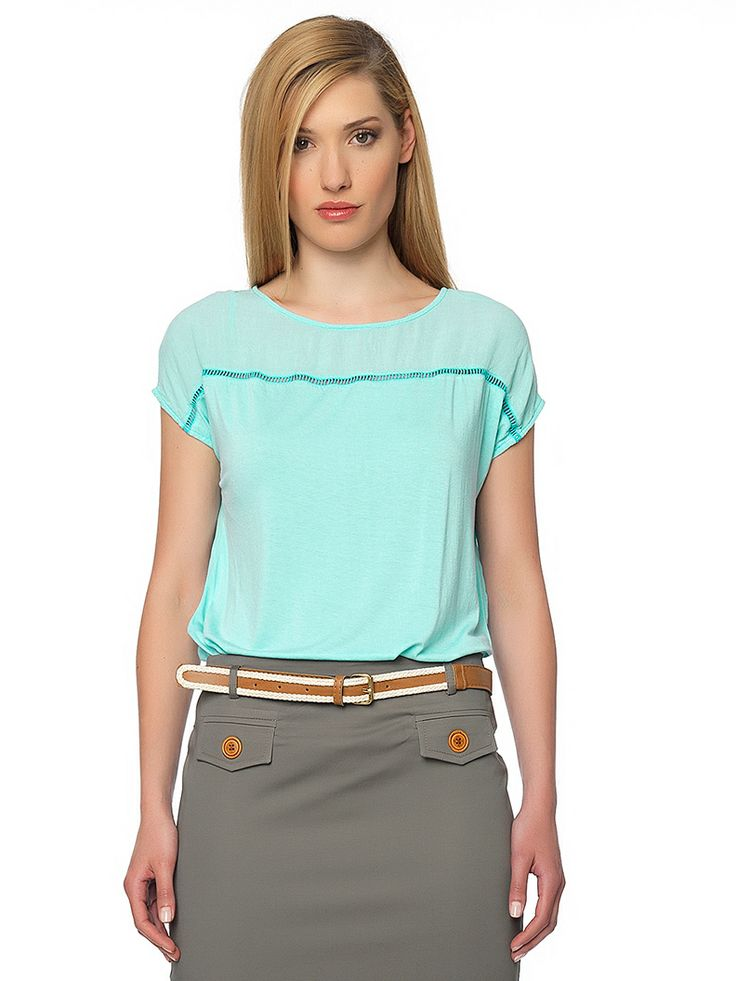 #office_mood with #turquoise_top