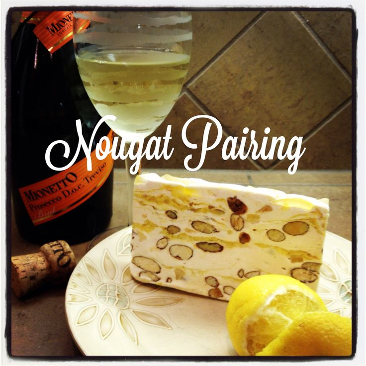Foodie Imports is up for the challenge of creating a US trend, in NZ & S Africa they pair nougat w wine!  Last night we paired lemon torrone nougat with Mionetto Prosecco @LiveMionetto. It was the perfect combination. It also lead us to think that other fruit flavors would pair well too.   #winetasting #wine #foodie #foodies #prosecco #tasting #pairing #italian #italiantreat #trend #yum
