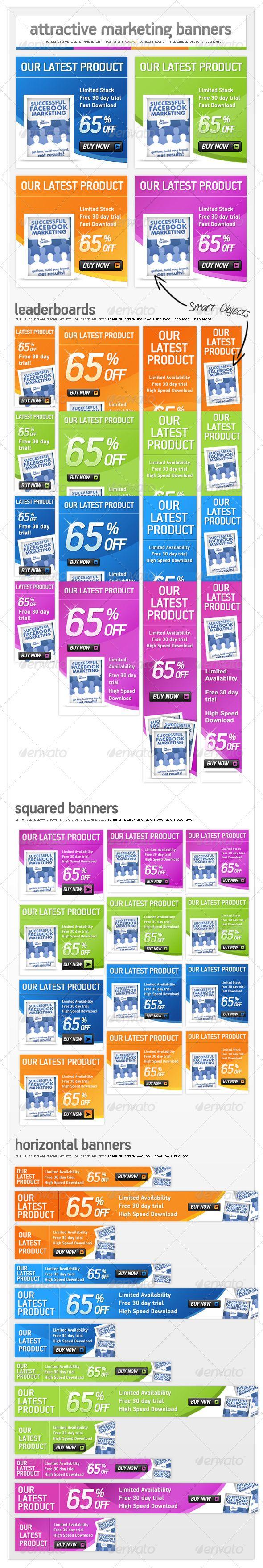 Online Marketing Pack - Web Banner Ads  http://www.elegantthemes.com/gallery/styleshop/