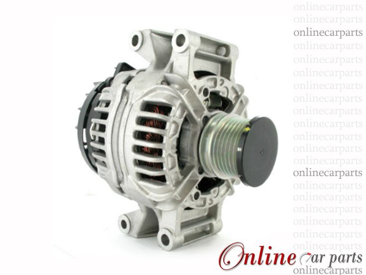 Mercedes-Benz Vito 112 CDI 01-04 OM611 90A 12V 6 Groove CW IR/IF Alternator OE 0123320065