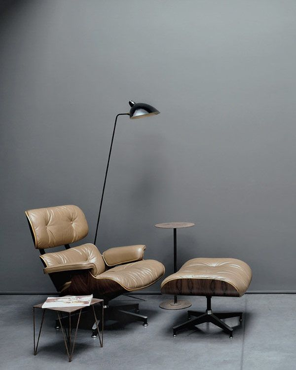 Eames, 1956 lounge chair