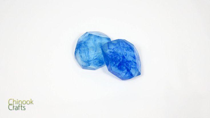 Pokemon Water Stone Evolution Stone (14.99 USD) by ChinookCrafts