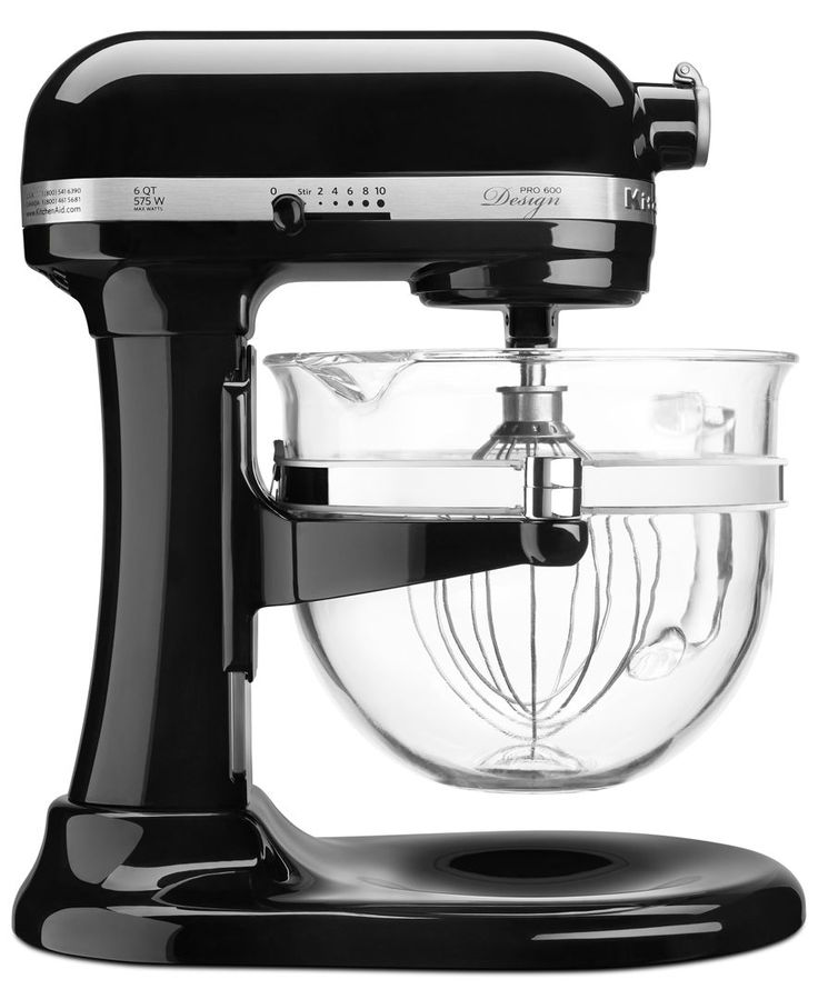 KitchenAid KF26M22 Professional 600 Stand Mixer with Glass Bowl + FREE Ice Cream Maker Attachment, a $79.99 Value