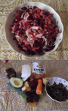 Салат «Метелка» для похудения - кулинарный рецепт с фото