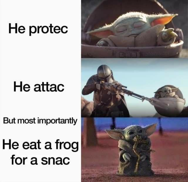 Pin By Victor Renoux On The High Ground Funny Star Wars Memes Yoda Meme Star Wars Jokes