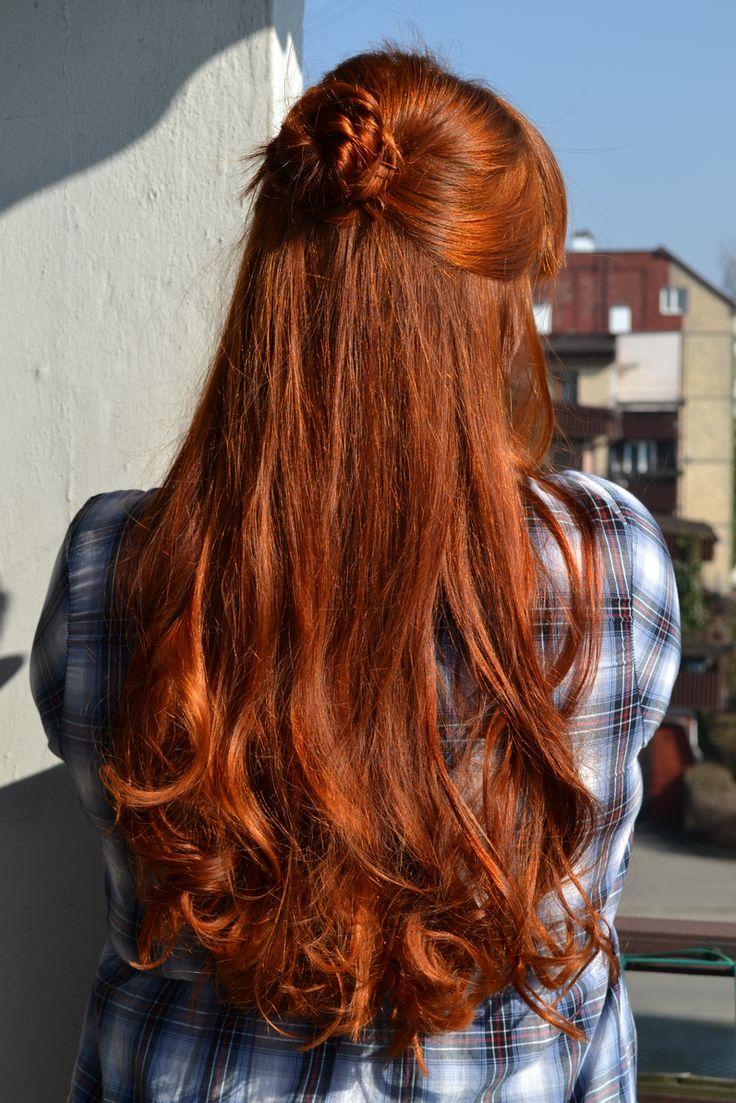 sophie czerymoja, pielęgnacja włosów, hair care: Tutorial na upięcie z loków