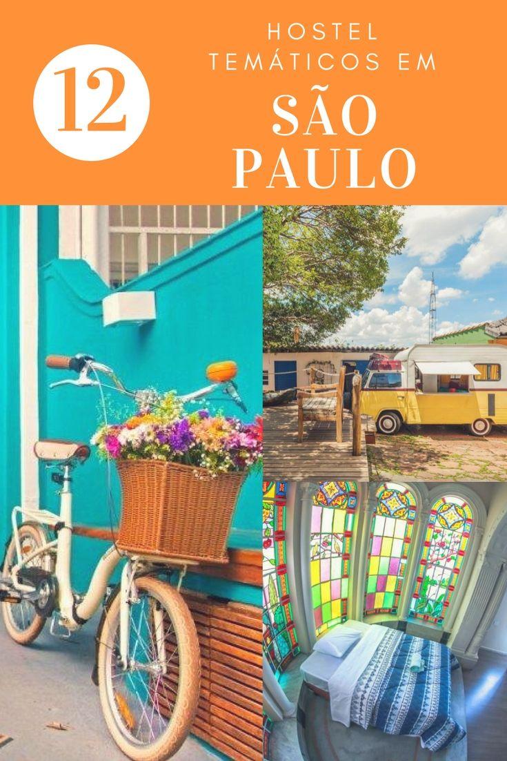 Conheça 12 Hostels Temáticos para se hospedar em São Paulo, hospedagem barata mas cheia de personalidade, uma ótima forma de economizar na sua viagem com um hostel personalizado. | Onde ficar em São Paulo
