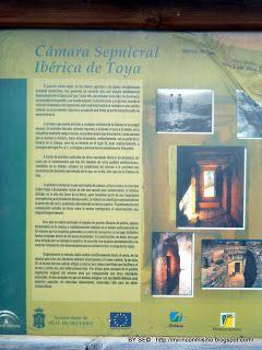 Mi rincón mi sitio: Cámara Sepulcral Ibérica de Toya