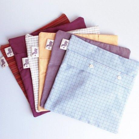 Pochettes en chemises recyclées ! DIY, recyclage design. Permet de ne pas se…