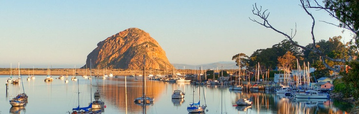 View from the deck at the Inn at Morro Bay. What a beautiful spot. It takes your breath away.