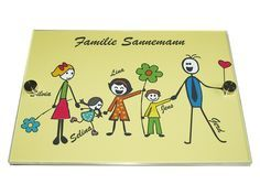 Wir erstellen individualisierte Haustürschilder für Euch! Ob zwei Kinder, drei Hunde oder BVB-Fan - wir übernehme gerne Eure Wünsche!
