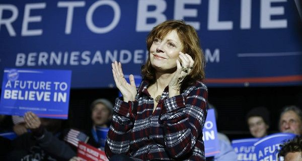 Susan Sarandon speech on Bernie Sanders rally at Taco Bell Arena ,Boise 21-03(VIDEO) Related #FeelTheBern