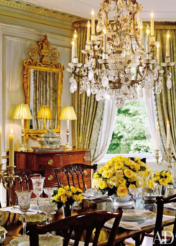 Dining Room By Marshall Watson And Holmes Easley James Akers In Summit New Jersey