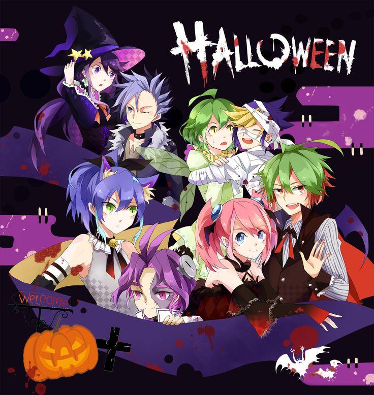 HALLOWEEN! [1] | Anime halloween, Anime art, Anime dolls