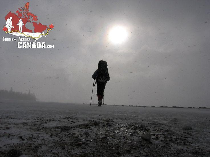 #walking #Canada #8000kmAcrossCanada #expedition #hiking #trail #fog #bestphoto #grey #bestoftheyear #bestoftheweek #JakubMuda #photography #photographer #sony