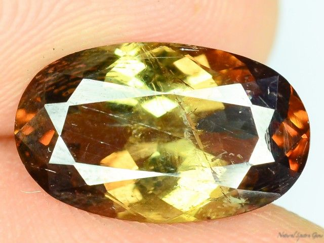 Extreme Rare 3.050 ct Natural Axinite Collector's Gem