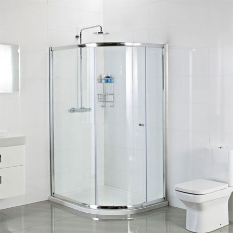 Roman Haven One Door Offset Quadrant Shower Enclosure