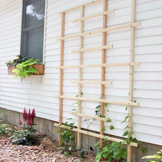 Diy Tutorial Shows You How To Build A Cedar Trellis For 400 x 300