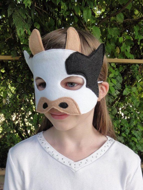 Child Cow Mask                                                                                                                                                                                 Más