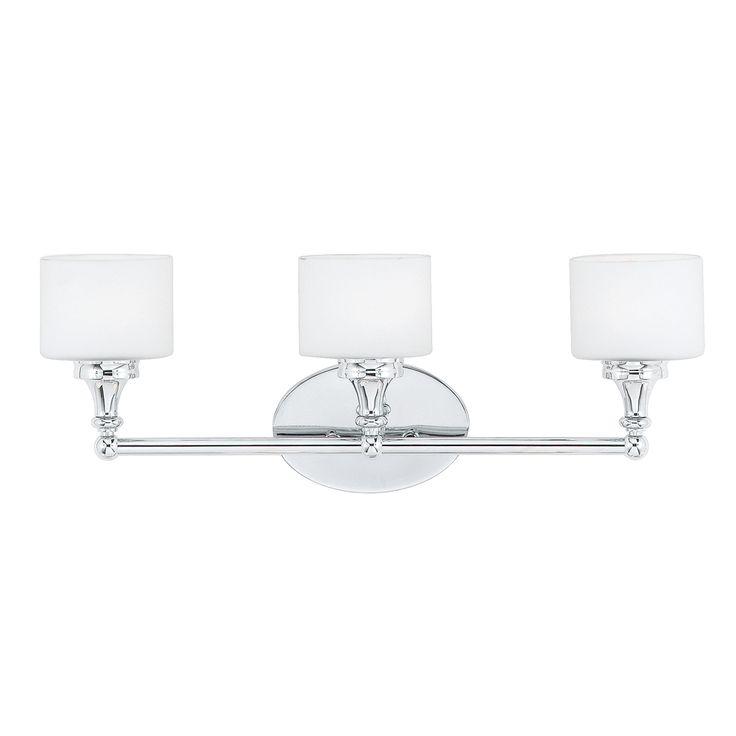 Quinton 3 Light Polished Chrome Bath Fixture | Overstock.com Shopping   The  Best