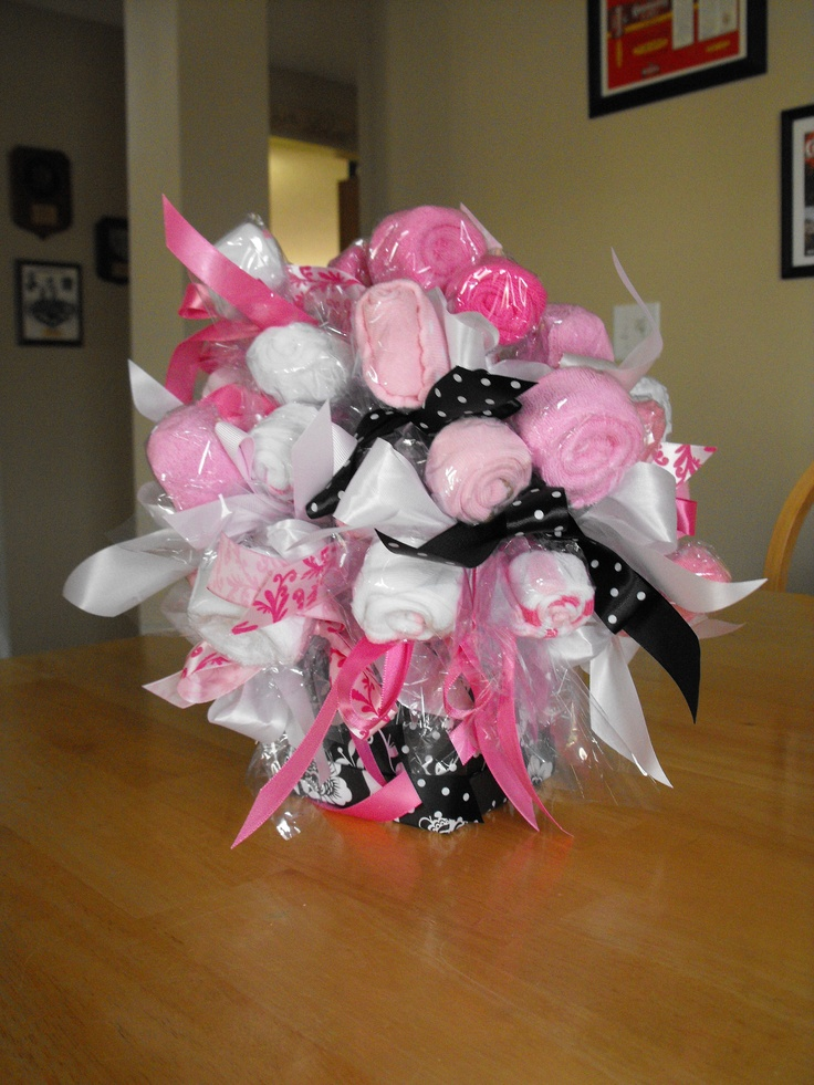Baby shower t Sock Bouquet This is the one I actually