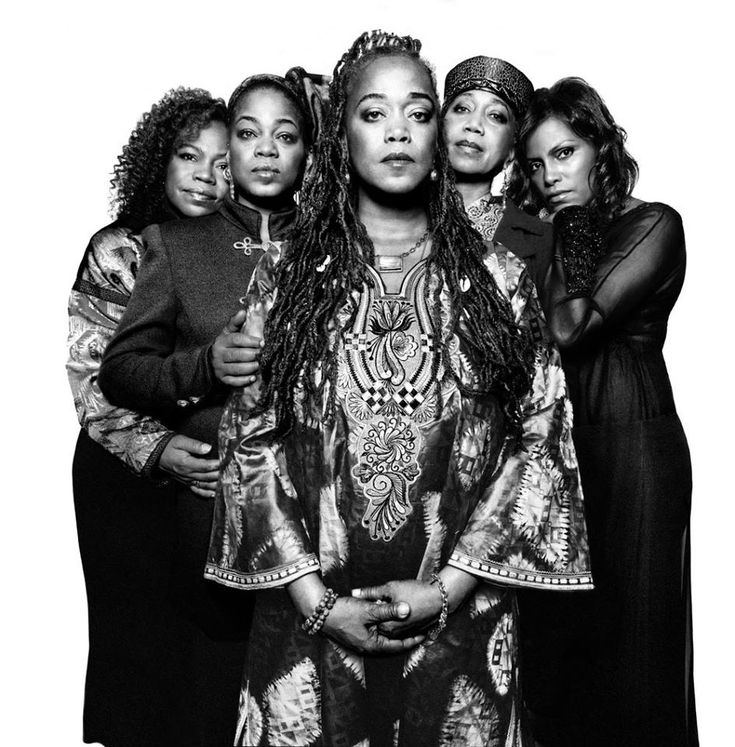 The daughters of Malcolm X and Betty Shabazz