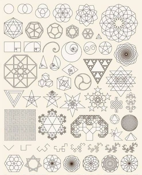 more ideas for my sacred geometry sleeve