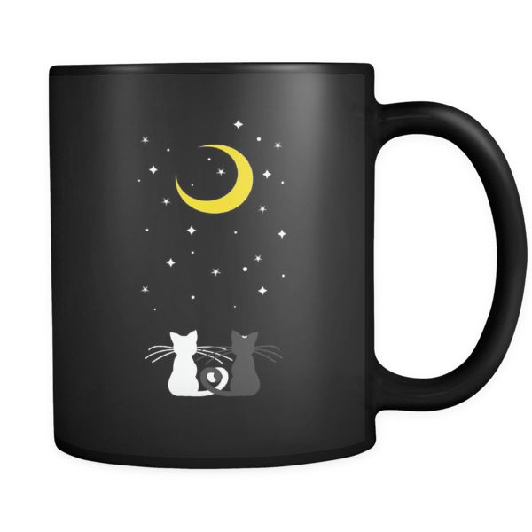 Don't you just love this two kitties? Then you should grab this Sailor Moon Luna and Artemis Mug now!