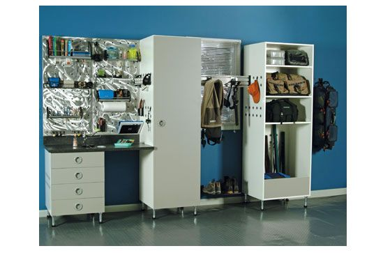 Added #cabinet space in the #garage from The Closet Doctor http://www.closet-doctor.com/