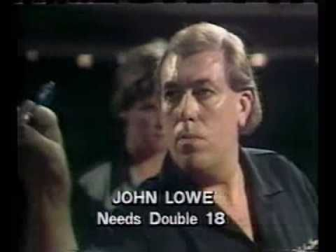 John Lowe's 9 darter - YouTube