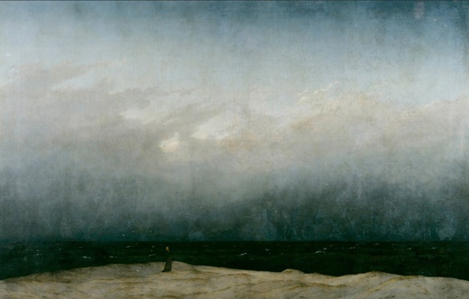 Caspar David Friedrich - Monk..., 1808