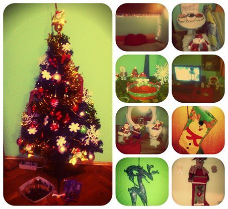 Christmas Time,  Room Decoration.