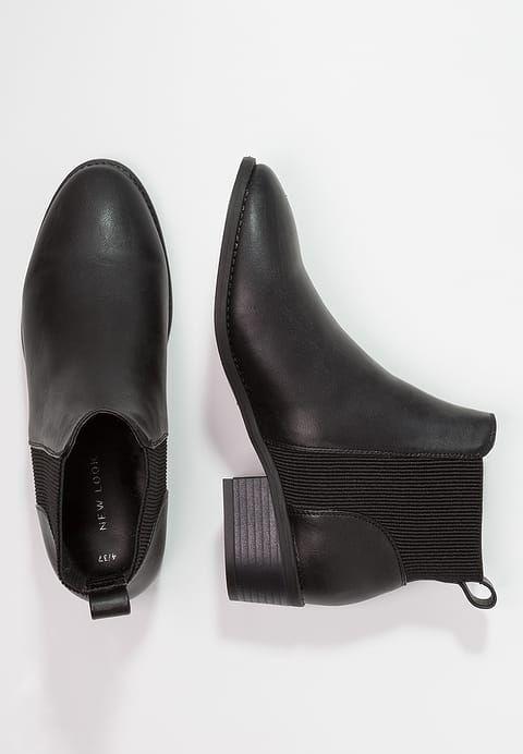Enkellaarsjes New Look DARREN - Korte laarzen - black Zwart: € 31,45 Bij Zalando (op 19/09/17). Gratis verzending & retournering, geen minimum bestelwaarde en 100 dagen retourrecht!