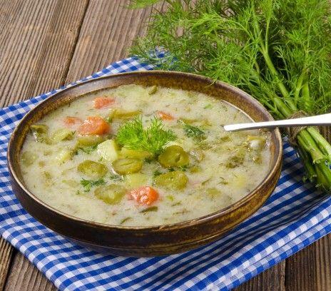 Tradycyjna zupa ogórkowa - Przepisy - Magda Gessler - Smaki Życia
