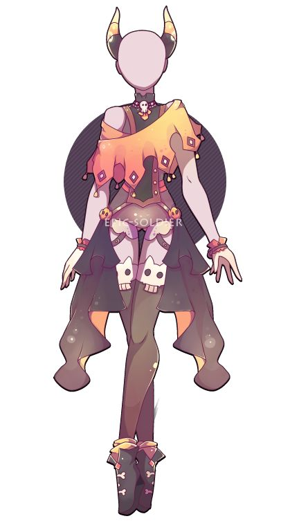 Costume adoptable 23 (CLOSED) by Epic-Soldier.deviantart.com on @DeviantArt