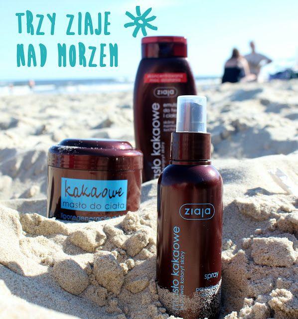Ziaja masło kakaowe - kosmetyki na plażę