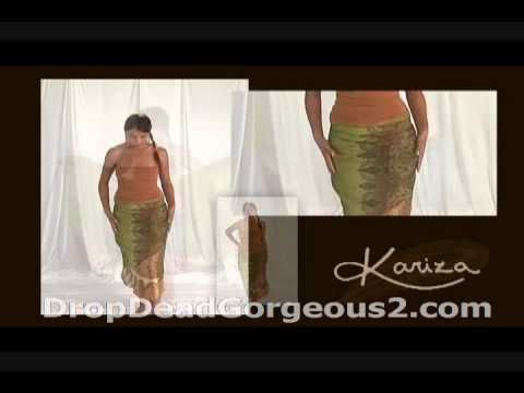 KARIZA WRAP (Magic Skirt 1) - Instructional